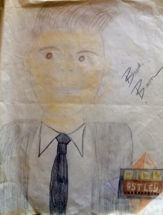 Rick Astley Black Tie